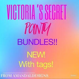 NWT VICTORIA'S SECRET PANTIES!!! 👙